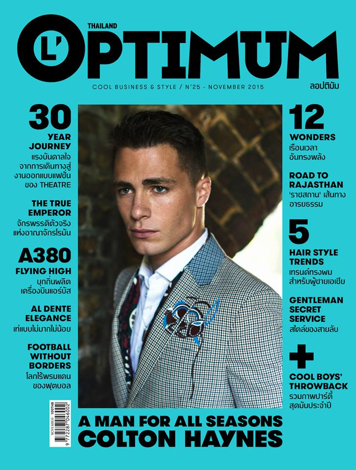 Colton-Haynes-Optimum-Thailand-November-2015-cover-001