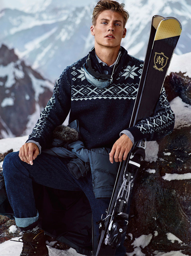 Massimo dutti apres ski fall / winter 2017 collection