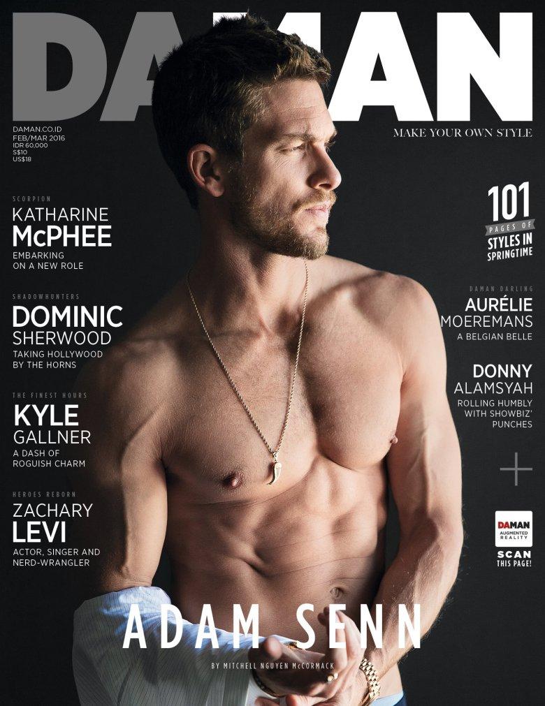 Adam-Senn-Da-Man-February-2016-cover-001