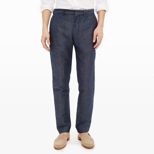 Connor Dress Trouser in Linen