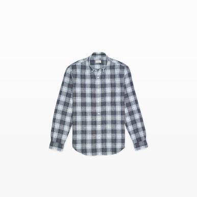 Linen Shirt in Plaid