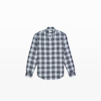 Linen Shirt in Plaid